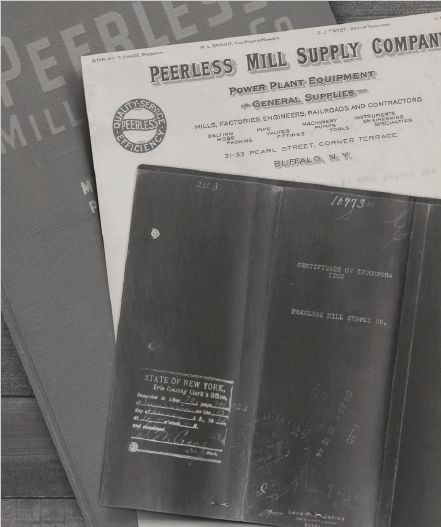 Peerless Mill Supply Papers