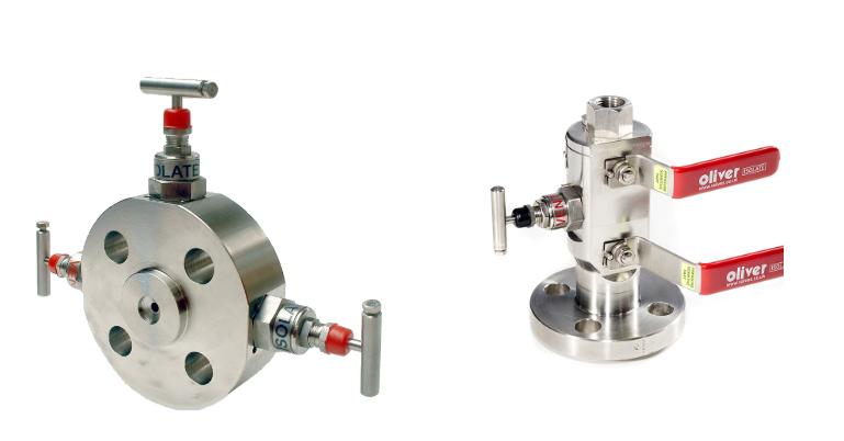 double-block-bleed-valves