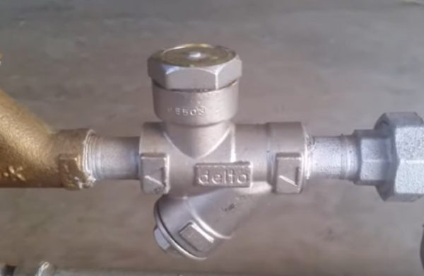 delta-venturi-trap-on-steam-line