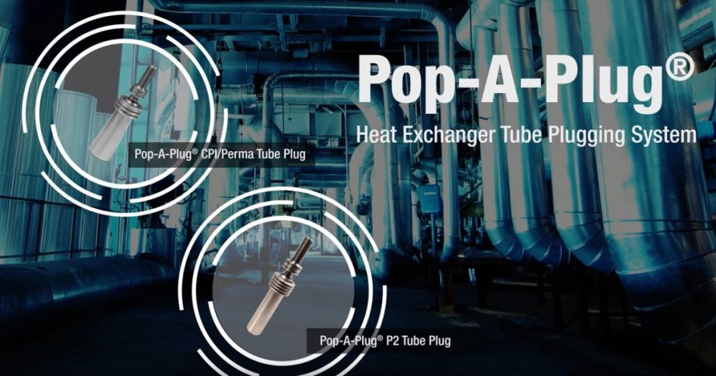 Pop-A-Plug Tube Plugging System