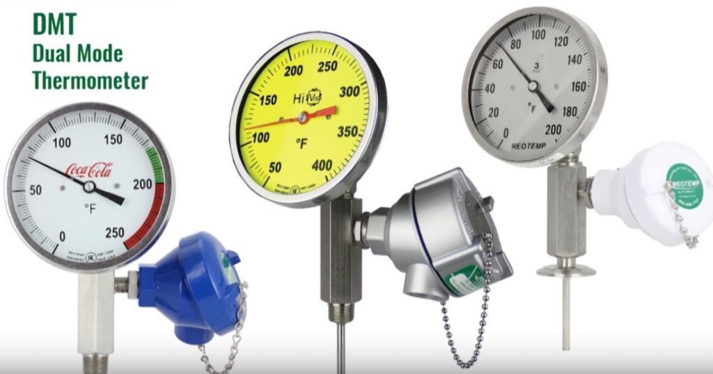 REOTEMP Dual Mode Thermometers