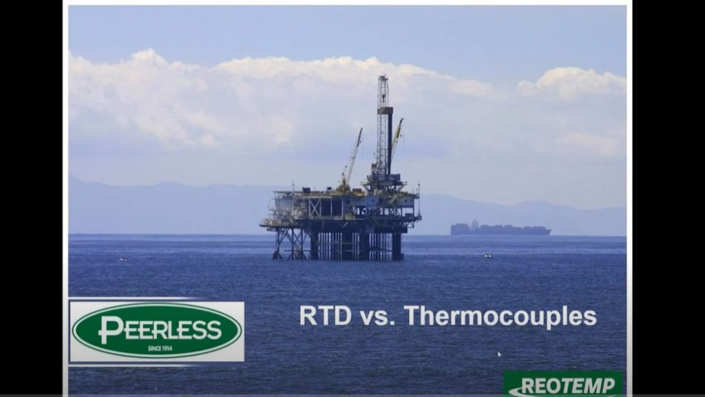 Thermocouples vs. RTDs Webinar, Featuring REOTEMP Instruments