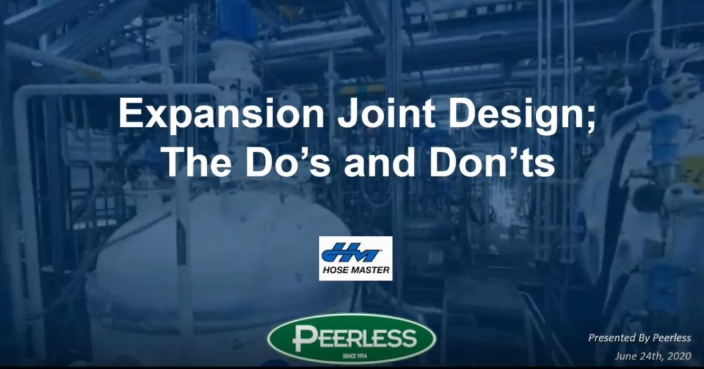 How To Avoid Expansion Joint Failures – Design Do's and Don'ts