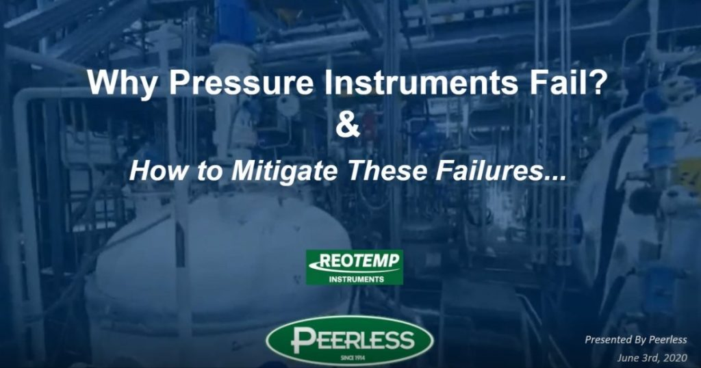 Reasons Why Pressure Instruments Fail and How to Avoid Them