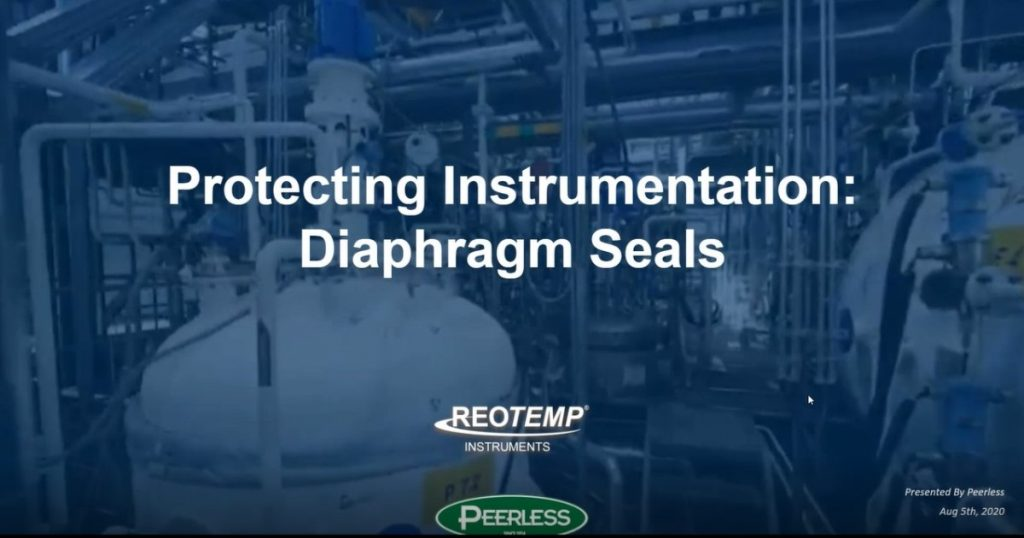 How to Protect Instrumentation using Diaphragm Seals