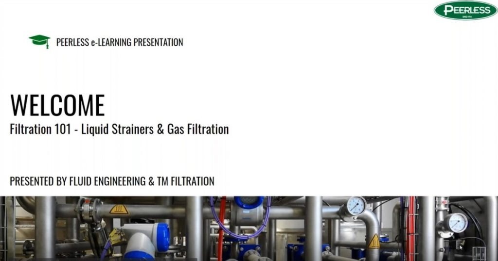 Filtration 101 – Liquid Strainers & Gas Filtration